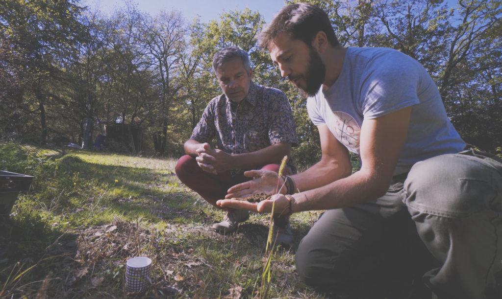 Nature sol coach jardinier